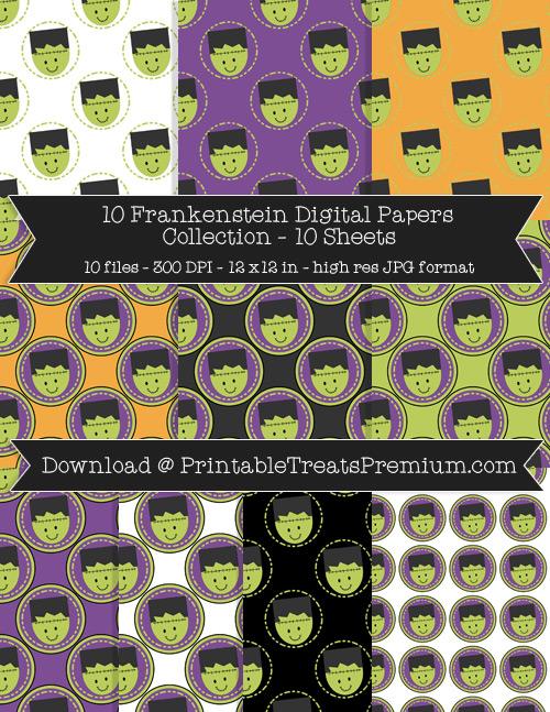 10 Frankenstein Digital Papers Collection