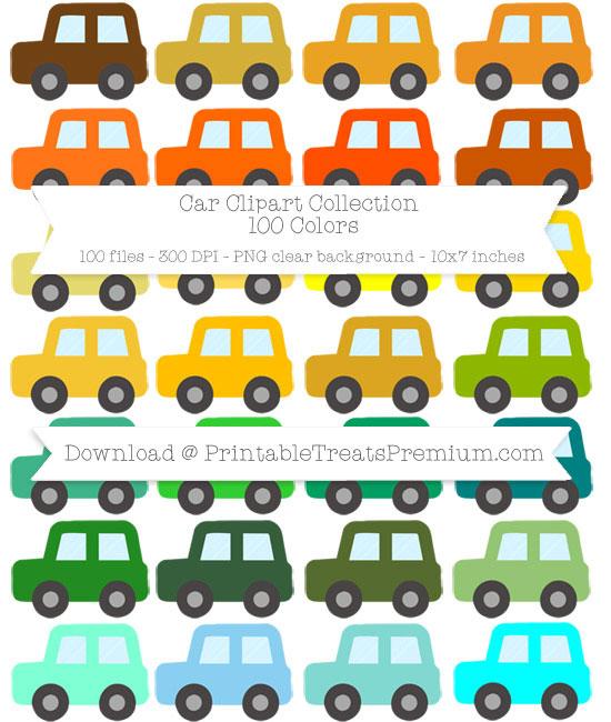 Car Clip Art Pack