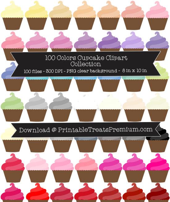 Cupcake Clip Art Pack