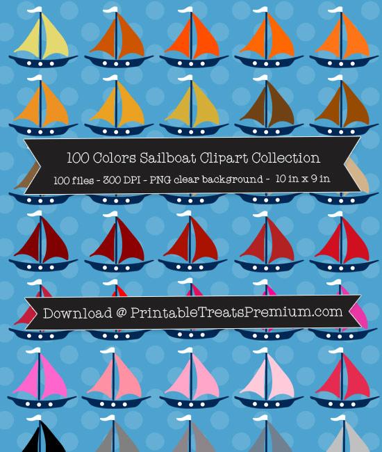 Sailboat Clip Art Pack