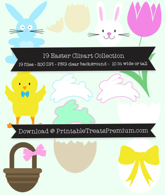 Easter Clipart Pack