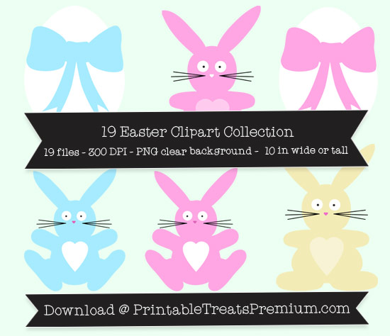 19 Easter Clipart Collection