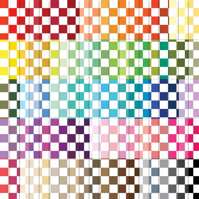 100 Colors Checkerboard Digital Paper Pack