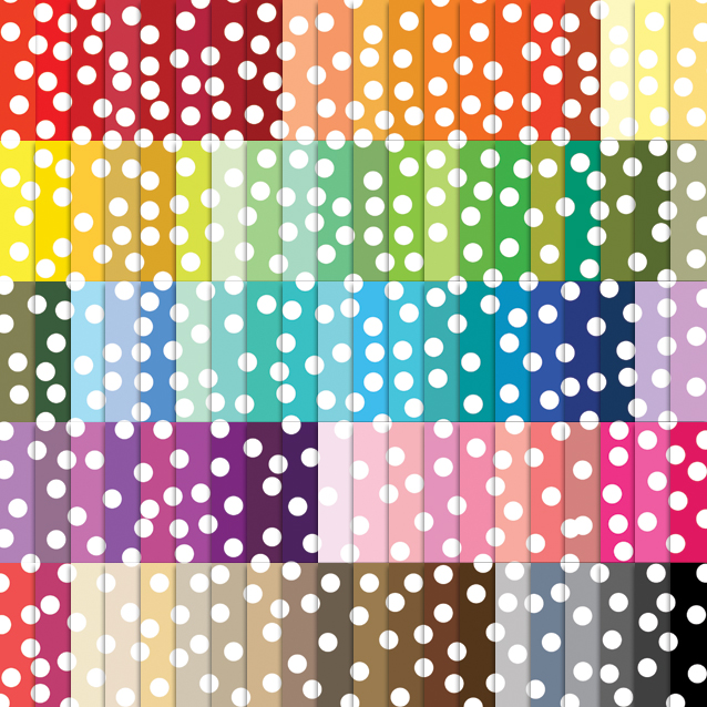 100 Colors Confetti Digital Paper Pack