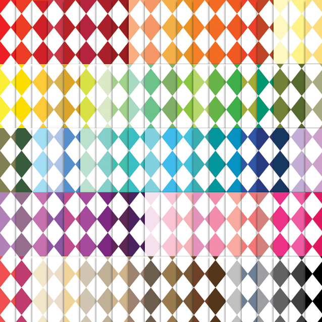 100 Colors Harlequin Digital Paper Pack