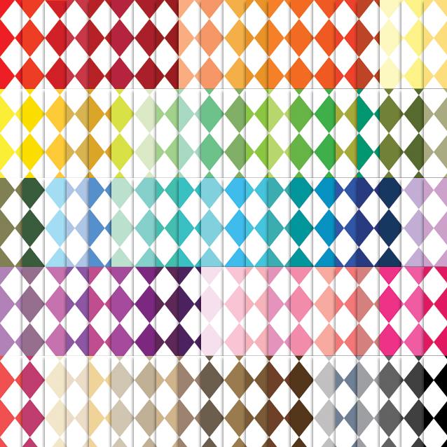Harlequin Digital Paper Pack - 100 Colors!